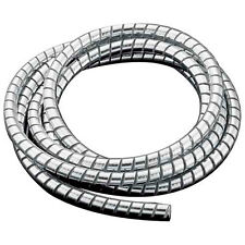Highway Hawk Chrome Effect Motorcycle Cable Cover In 1.5 Meter Lengths - Small
