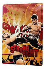 Tin Sign Kitchen Wrestling fight