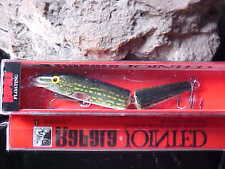 Rapala Jointed Minnow J13 PK Color PIKE for Bass/Pike/Walleye/Musky/Pickerel