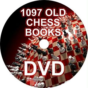 Chess Old Books Collection - 1097 Old Books on 3 DVDs
