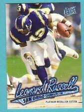 1997 Ultra Platinum Medallion #36 Leonard Russell Chargers