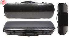 4/4 Violin Case mixed Carbon fiber Hard case Light 2.1kg Music sheet bag #US