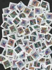 100+ US Flag For All Seasons Stamps, Forever (46 cent)  On Paper