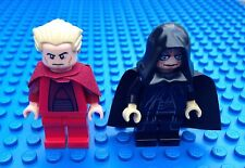 Lego Star Clone Wars CHANCELLOR PALPATINE & THE EMPORER QTY2 x Minifigures Sith