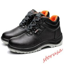 Waterproof Mens Footware High Top Lace Up Work Safety Breathable Casual Shoes sz