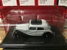 "DIE CAST "" CITROEN - TRACTION 7A - 1934 "" CITROEN ATLAS  1/43"