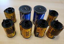 8 Rolls Kodak Gold Film 35mm 200 Color Film 24 exposures EXPIRED Print Film