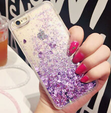 Cute Liquid Glitter Lady Quicksand Phone Case Cover Fits iPhone SE 5 6 Plus 7 8 iPhone X Pink - Dot