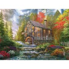 BITS AND PIECES JIGSAW PUZZLE THE OLD WOOD MILL DOMINIC DAVISON 1000 PCS #43896