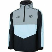 Cronulla Sharks NRL 2019 Players Wet Weather Jacket Adults Sizes S-5XL!