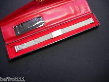 Bracelet extensible métal 12 mm montre watch vintage plongée dame lady strap