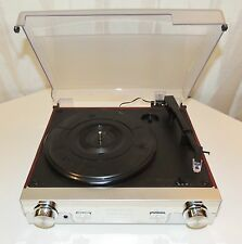 CROSLEY MODEL 6005A TURNTABLE RECORD PLAYER AM/FM TUNER RADIO COMBO SPEAKERS WOW