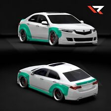 Wide body Acura TSX / Honda Accord cu2 2008-2013 (with rear trunk spoiler)