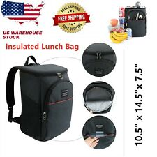 Insulated Lunch Bag Portable Thermal Cooler Bento Picnic Food Tote Carry Bags