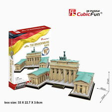 New Brandenburg Gate Germany Building 3D Model Jigsaw Puzzle 150 Pieces MC207H