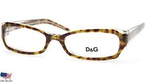 NEW D&G Dolce & Gabbana DG1137 556 TORTOISE TRANSPARENT EYEGLASSES D&G 1137 51mm