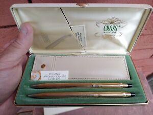 Beautiful Cross Ladies 10K GF Century BP Pen Pencil Purse NEW OLD STOCK