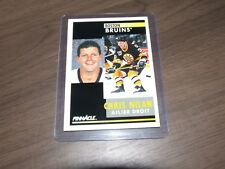 1991-92 Pinnacle # 289 CHRIS NILAN