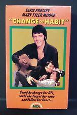 Change of Habit (BETAMAX) MCA Video Inc #55017 (NOT VHS) Elvis, Mary Tyler Moore