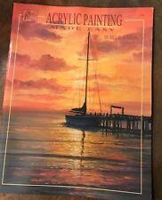*RARE* Acrylic Painting Made Easy Paint Book Bill Blackman Susan Scheewe *NEW*