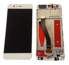 Huawei P10 Display LCD Touchscreen Glas Displayeinheit Rahmen Weiß