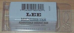 LEE Micrometer Adjustable Charge Bar-(90792) NIP