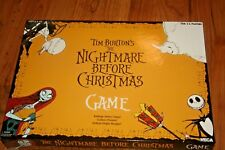 Tim Burton's The Nightmare Before Christmas Board Game Neca Complete Rare HTF
