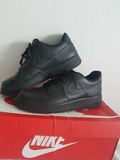 Mens Nike Air Force Ones Black Uk Size 9