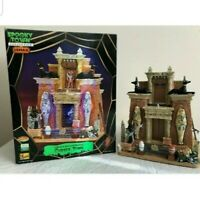 Lemax Collection Halloween Spooky Town 2007 Animated Cursed Tomb Mummy Rare