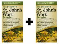 2 x Holland & Barrett St John's Wort 284mg | 50 Capsules