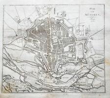 1813 München Stadtplan Kupferstich-Stadtplan
