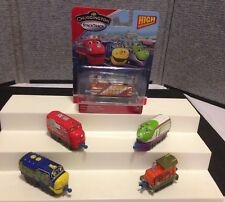CHUGGINGTON DIECAST LOT OF 5 WITH NEW TINA LA LOCO EXPERT