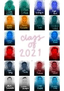 Class Of 2021 - Formula 1 2021 A4 Digital Art Print