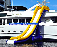 8x20 Inflatable Water Slide Boat Yacht Bounce Obstacle Course Ocean Playground