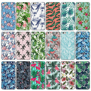 Botanical Tropical Hawaiian Floral Flower Phone Cases for iPhone Models