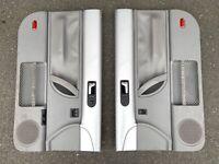 VW Volkswagen Beetle Door Panel Driver Passenger Side SILVER Oem Panels Trim Lh