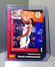 Giannis Antetokounmpo 2019-20 Panini NBA Most Valuable Player #223 Card 1 of 197