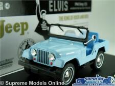 ELVIS PRESLEY JEEP CJ5 CAR MODEL 1:43 SIZE 1963 GREENLIGHT 86310 TICKLE ME T34Z