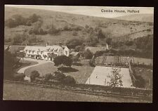 Somerset HOLFORD Combe House 1928 PPC