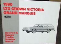 1988 Ford Crown Victoria Mercury Grand Marquis Wiring Diagram Schematic Ebay