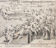 Belgique Échec de l'attaque sur Anvers 1605 Willem Baudartius (1565-1640)