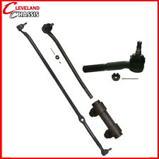4 Pc Steering Kit F100 F250 65-71 RWD Center Link Tie Rod Ends Sleeves