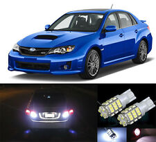 Premium LED Reverse Backup Light Bulbs for 2011 - 2018 Subaru WRX STI T15 42SMD
