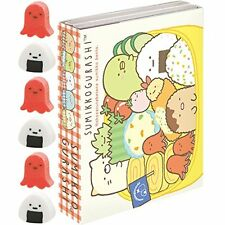Sumikko Gurashi Pata Pata Memo pad 120 sheets with 6 Mini Eraser San-X 23101