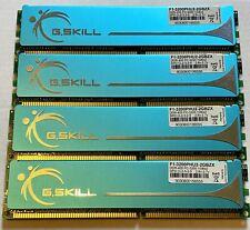 G.SKILL PC-3200 DDR-400 CL2 Desktop RAM Memory 4GB (4x1GB) F1-3200PHU2-2GBZX New