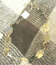 Gold metal chain belt, size M