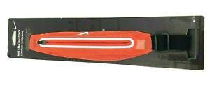 New Nike Lean 2 Pocket Waist Pack Max Orange/Silver/Black  - OS / Unisex