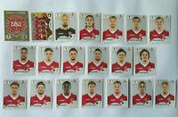Panini WM 2018 Dänemark Denmark Mannschaft Team Complete Set World Cup WC 18