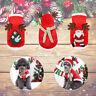 Pet Dog Puppy Santa Outfit Christmas Clothes Costumes Warm Jacket Coat Apparel