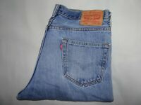 """LEVIS 550 Jeans Relaxed Fit Tapered Blue Denim SIZE W34 L32 Waist 34"""" Leg 32"""""""